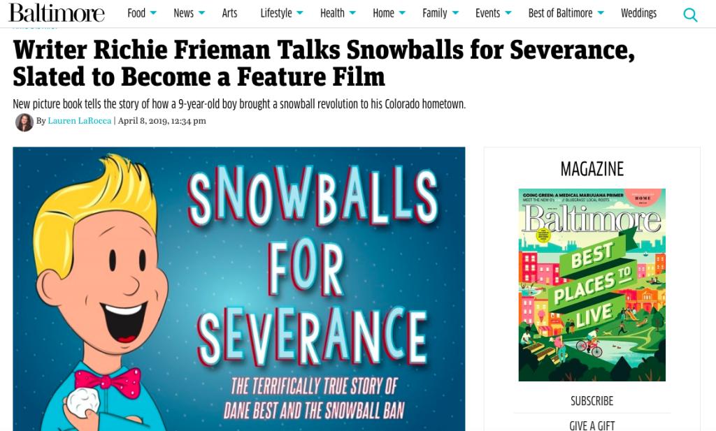 In The News – RichieFrieman com