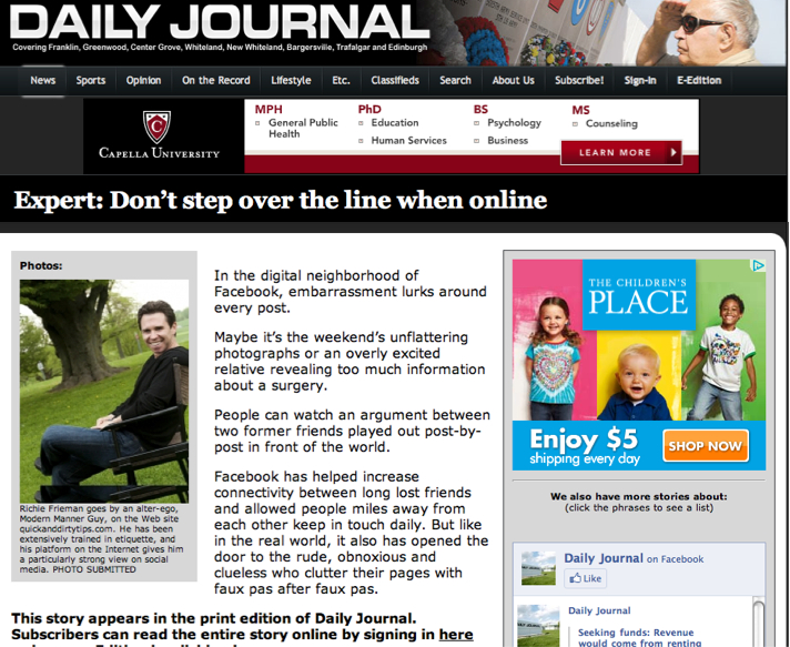 daily journal eedition - 712×583